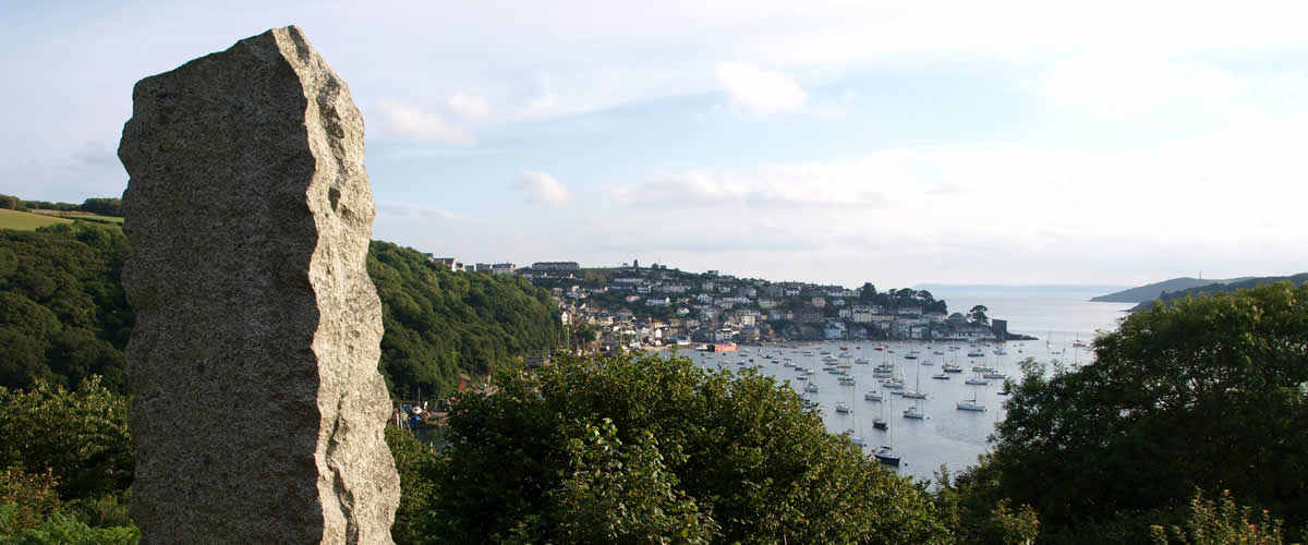 Views over Fowey harbour